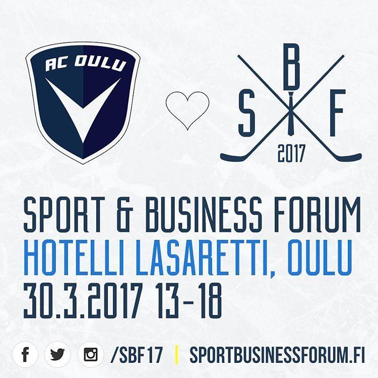 Oulussa jrjestettv Sport amp Business Forum tarjoaa yrityksille ja urheiluseuroillehellip