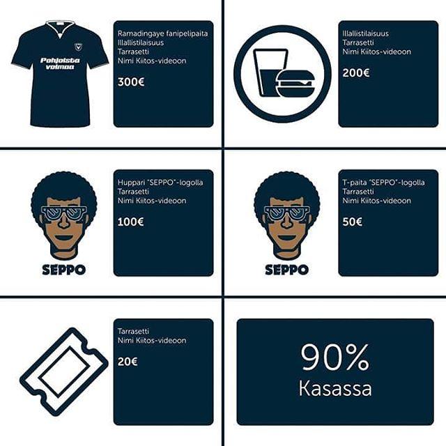 LOPPUKIRI! Seppo2017kampanja pttyy tnn Osallistu AC Oulun kannattajien jrjestmn kampanjaanhellip
