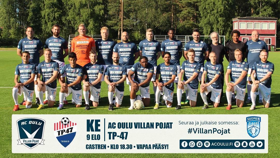 HUOMENNA ON PELIPIV! AC Oulu Villan Pojat kohtaavat Kakkosen TP47nhellip