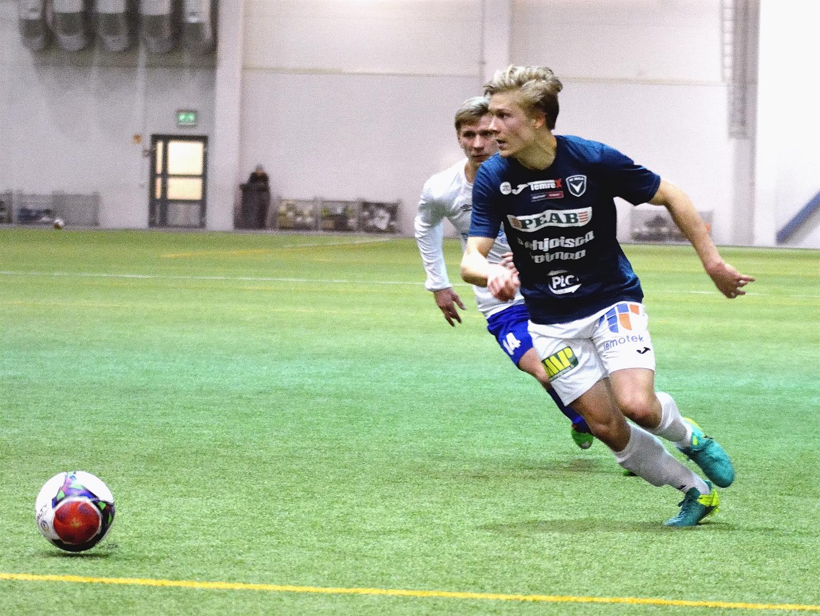 Juuso Kemppainen kohtaa PS Kemin perjantaina. (Kuva: Kari Väre)