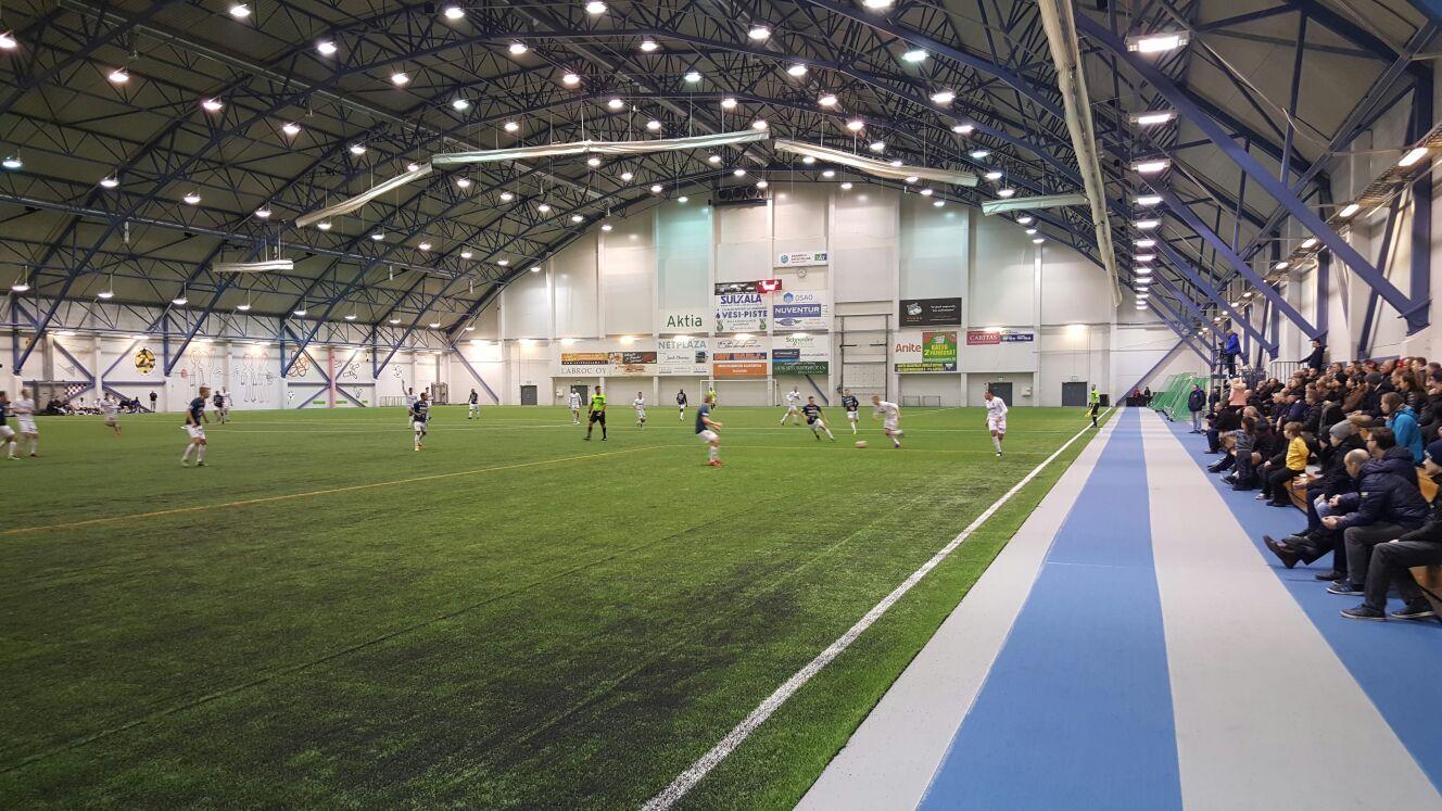 AC Oulu ja PS Kemi kohtasivat toistamiseen tällä kaudella. (Kuva: Juho Meriläinen)