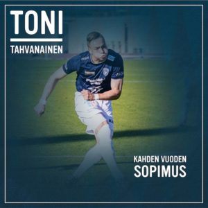 SOPIMUSUUTISIA! Toni Tahvis Tahvanainen palaa AC Ouluun kahden vuoden mittaisellahellip